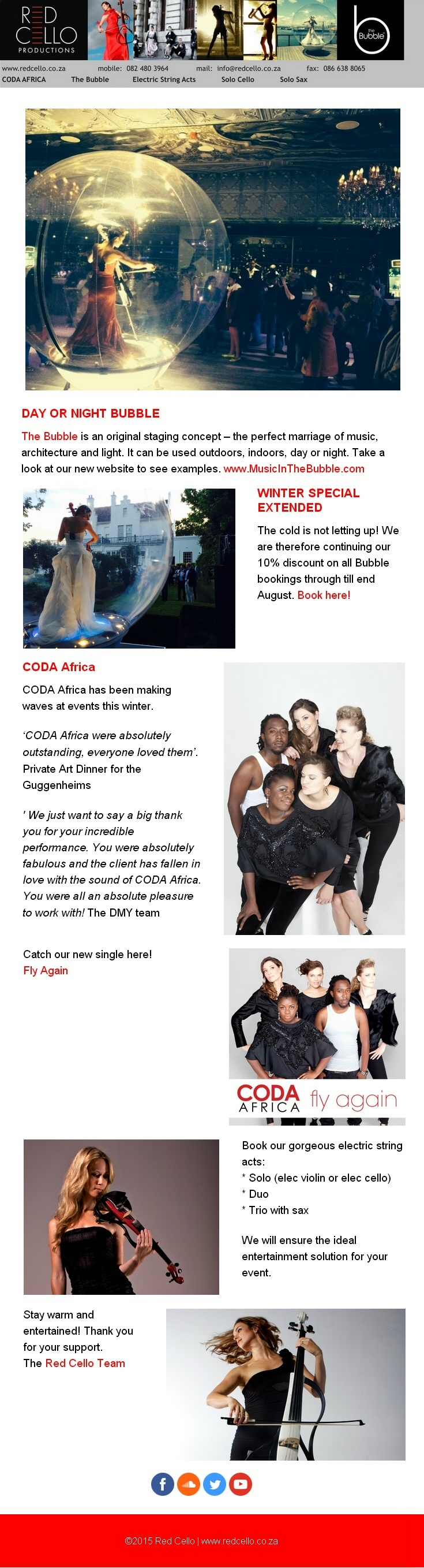 Spectacular Acts for your Year End Events